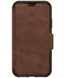 Otterbox Strada Folio Case iPhone X Espresso Brown