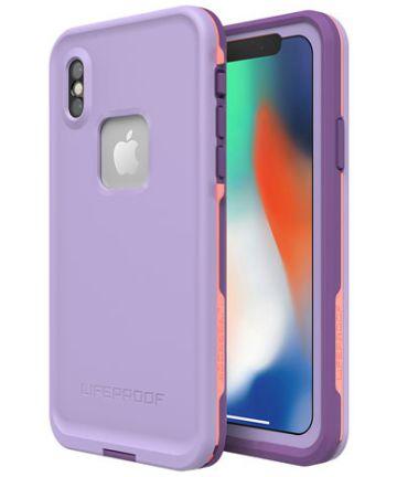 Lifeproof Fre Apple iPhone X Waterdicht Hoesje Paars
