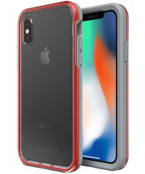 LifeProof Slam Apple iPhone X Hoesje Rood