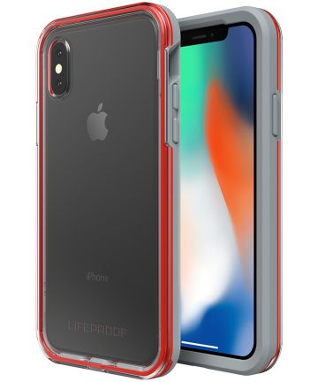 LifeProof Slam Apple iPhone X Hoesje Rood Hoesjes