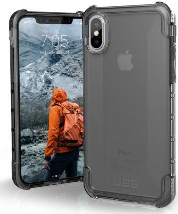 Urban Armor Gear Plyo Hoesje Apple iPhone XS/X Ash