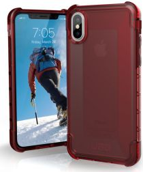 Urban Armor Gear Plyo Hoesje Apple iPhone XS/X Crimson