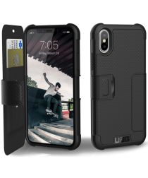 Urban Armor Gear Metropolis Hoesje Apple iPhone XS/X Black