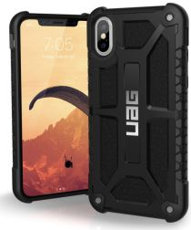 Urban Armor Gear Monarch Hoesje Apple iPhone XS/X Midnight