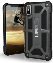 Urban Armor Gear Monarch Hoesje Apple iPhone XS/X Graphite