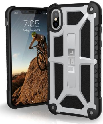 Urban Armor Gear Monarch Hoesje Apple iPhone XS/X Platinum