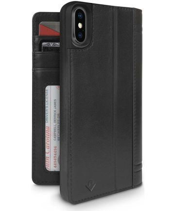 Twelve South Journal voor iPhone X / XS Zwart