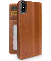 Twelve South Journal voor iPhone X / XS Bruin