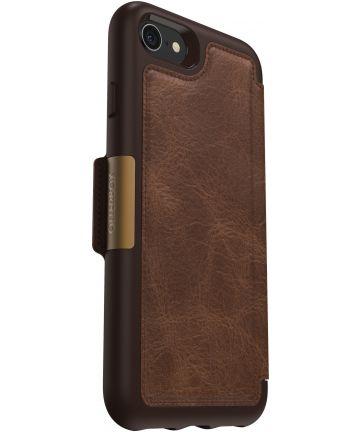 Otterbox Strada Apple iPhone 7 / 8 Espresso Bruin Hoesjes