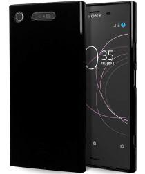 Sony Xperia XZ1 TPU Zwart hoesje