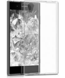 Sony Xperia XA1 Plus TPU Transparant hoesje