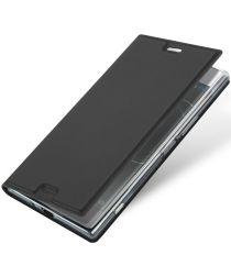 Dux Ducis Sony Xperia XZ1 Bookcase Hoesje Zwart