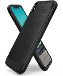 Ringke Onyx Apple iPhone X Hoesje Zwart
