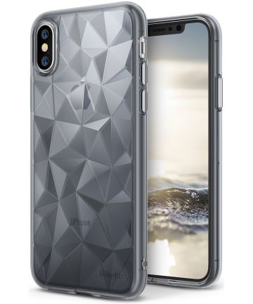 Ringke Air Prism Apple iPhone X Hoesje Grijs