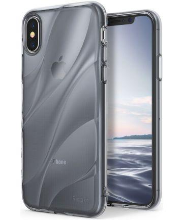 Ringke Flow iPhone X Hoesje Grijs