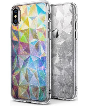 Ringke Air Prism Apple iPhone X Hoesje Glitter Doorzichtig