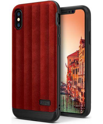 Ringke Flex S Apple iPhone X Hoesje Rood Hoesjes