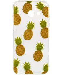 Samsung Galaxy A3 (2017) TPU Hoesje Ananas Print