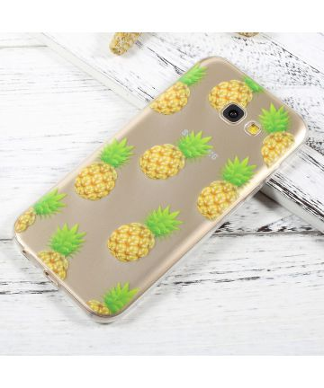 Samsung Galaxy A5 (2017) TPU Hoesje Ananas Print