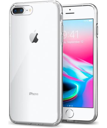 Spigen Liquid Crystal Apple iPhone 8 Plus Transparant