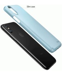Ringke Slim Apple iPhone X ultra dun hoesje Blauw