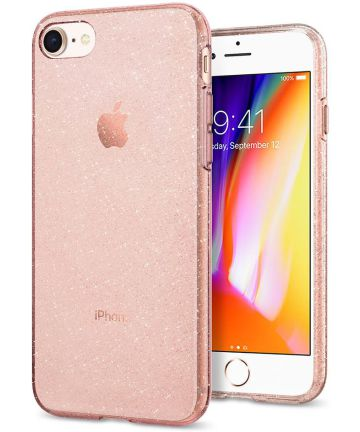 Spigen Liquid Crystal Glitter Apple Iphone 7/ 8 Hoesje Roze