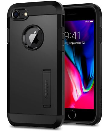 Spigen Tough Armor 2 Case Apple iPhone 7/8 Zwart