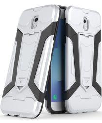 Samsung Galaxy J5 (2017) Hybride Kickstand Hoesje Wit