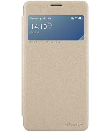 Nillkin Sparkle Series Book Case Asus ZenFone 4 Max 5.5 Goud