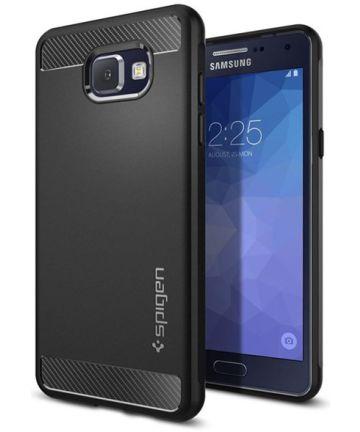 Spigen Rugged Armor Case Samsung Galaxy A3 (2016) Zwart
