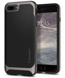 Spigen Neo Hybrid Hoesje Apple iPhone 8 Plus / 7 Plus Gunmetal