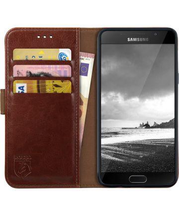 Rosso Element Samsung Galaxy A5 (2016) Hoesje Book Cover Bruin