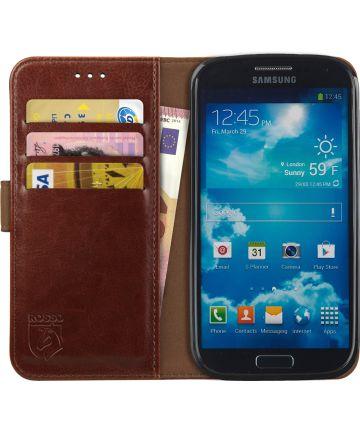 Rosso Element Samsung Galaxy S4 Hoesje Book Cover Bruin