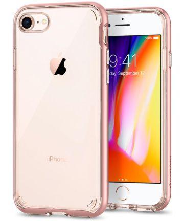 Spigen Neo Hybrid Crystal 2 Case iPhone 7 / 8 Rose Gold Hoesjes