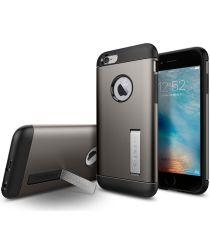 Spigen Slim Armor Hoesje Apple iPhone 6 / 6S Gunmetal