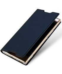 Dux Ducis Sony Xperia XA1 Ultra Bookcase Hoesje Blauw