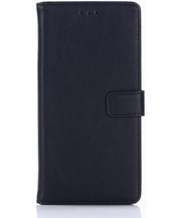 Sony Xperia XZ1 Retro Portemonnee Hoesje Zwart