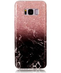 Samsung Galaxy S8 TPU Back Cover Marmer