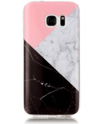Samsung Galaxy S7 Print TPU Hoesje Marmer