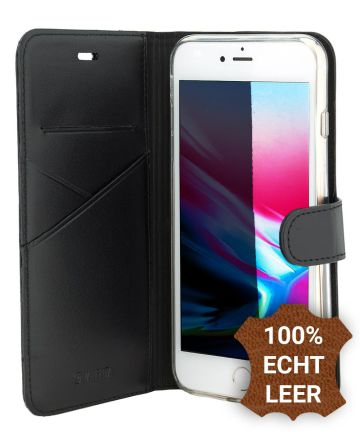 Valenta Booklet Premium Hoesje Leer iPhone 7 / 8 Plus Zwart