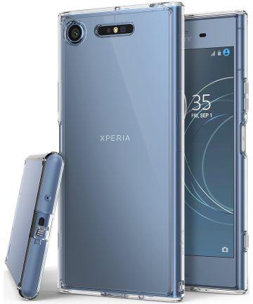 Ringke Fusion Sony Xperia XZ1 Hoesje Clear