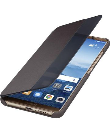 Huawei Mate 10 Pro View Cover Bruin Hoesjes