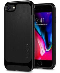 Spigen Neo Hybrid Herringbone iPhone 7 / 8 Hoesje Zwart