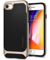 Spigen Neo Hybrid Herringbone iPhone 7 / 8 Hoesje Goud