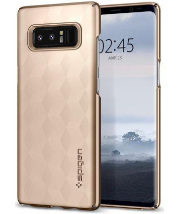 Spigen Thin Fit Case Samsung Galaxy Note 8 Maple Gold