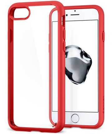 Spigen Ultra Hybrid 2 Case Apple iPhone 7 / 8 Red