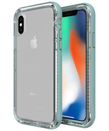 Lifeproof Nëxt Apple iPhone X Hoesje Blauw