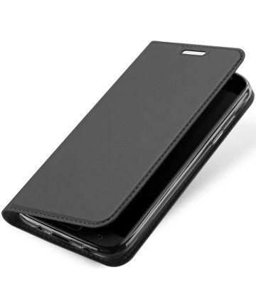 Dux Ducis Samsung Galaxy J7 (2017) Bookcase Hoesje Grijs