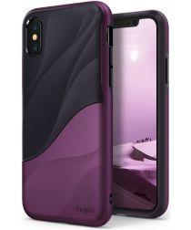 Ringke Wave Apple iPhone X Hoesje Metallic Purple
