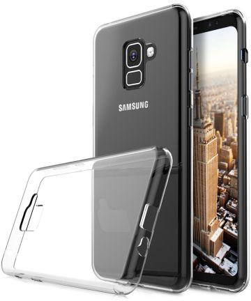 Samsung Galaxy A8 (2018) Transparant Hoesje